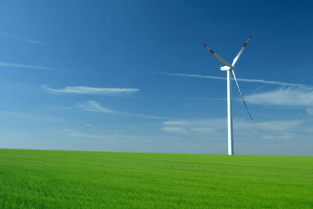 Environment Wind Turbine