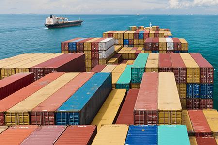 Transportation Ocean Cargo Ship