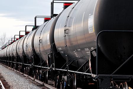 Transportation Rail Tanker