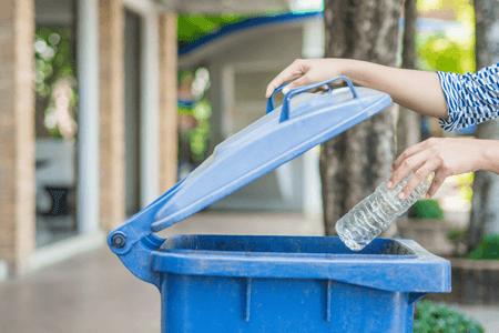 Sustainability Recycling Bin Plastic Bottle