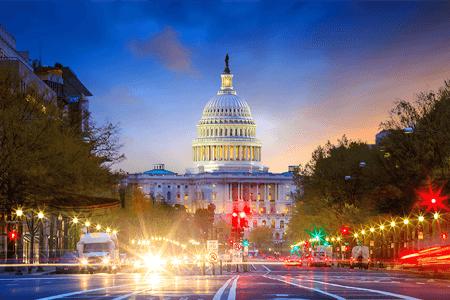 Capitol Dome from Pennsylvania Avenue