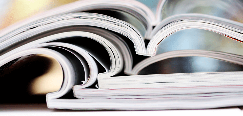 Stack of Research Books & Reports