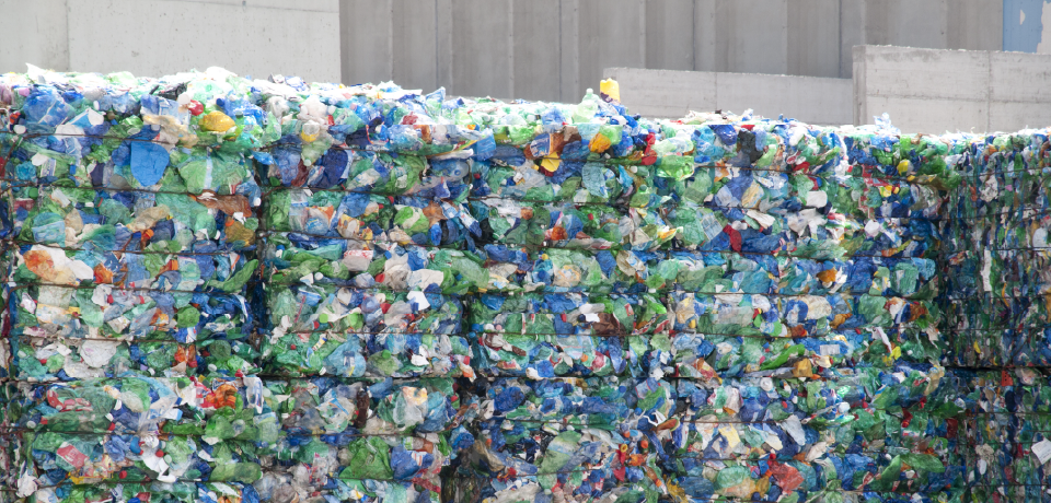 Plastic Gathered for Recycling