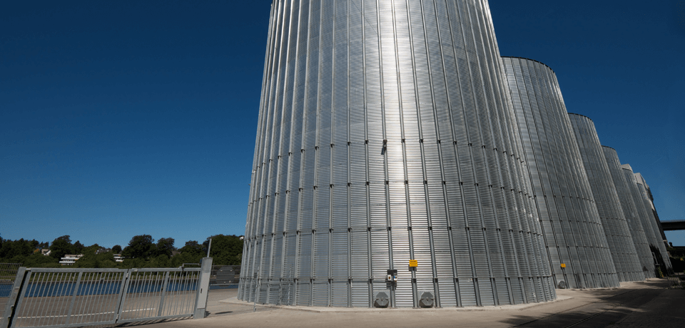 Chemical Manufacturing Silos or Storage Tanks