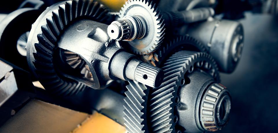 Cogwheel in machinery