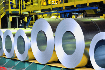 Giant Steel Rolls
