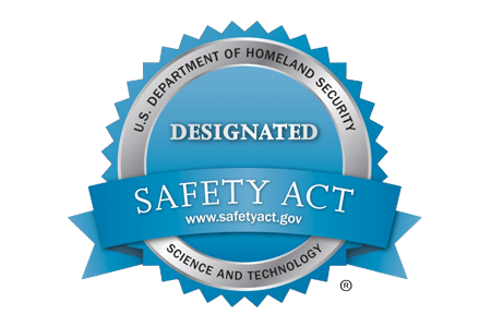 U.S. Department of Homeland Security Designated Safety Act Seal