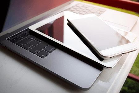 Laptop Tablet Cell Phone