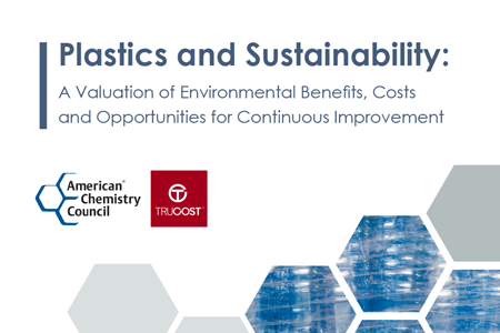 Plastics and Sustainability: A Valuation of Environmental Benefits, Costs and Opportunities for Continuous Improvement
