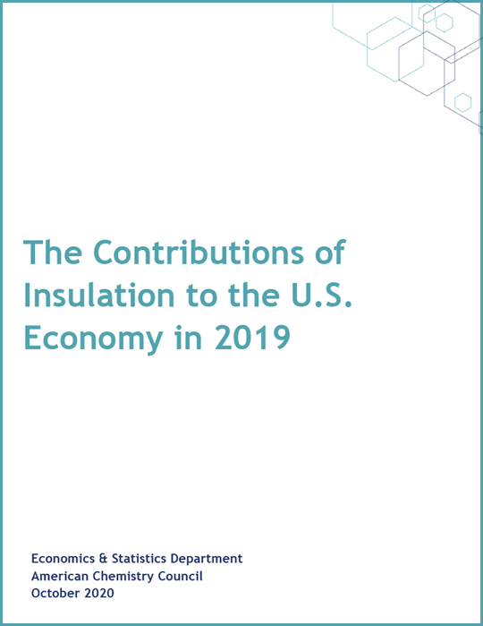 The Contributions of Insulation to the U.S. Economy in 2019