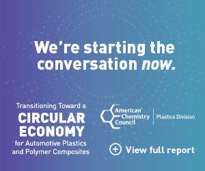 Transitioning Toward a Circular Economy for Automotive Plastics and Polymer Composites