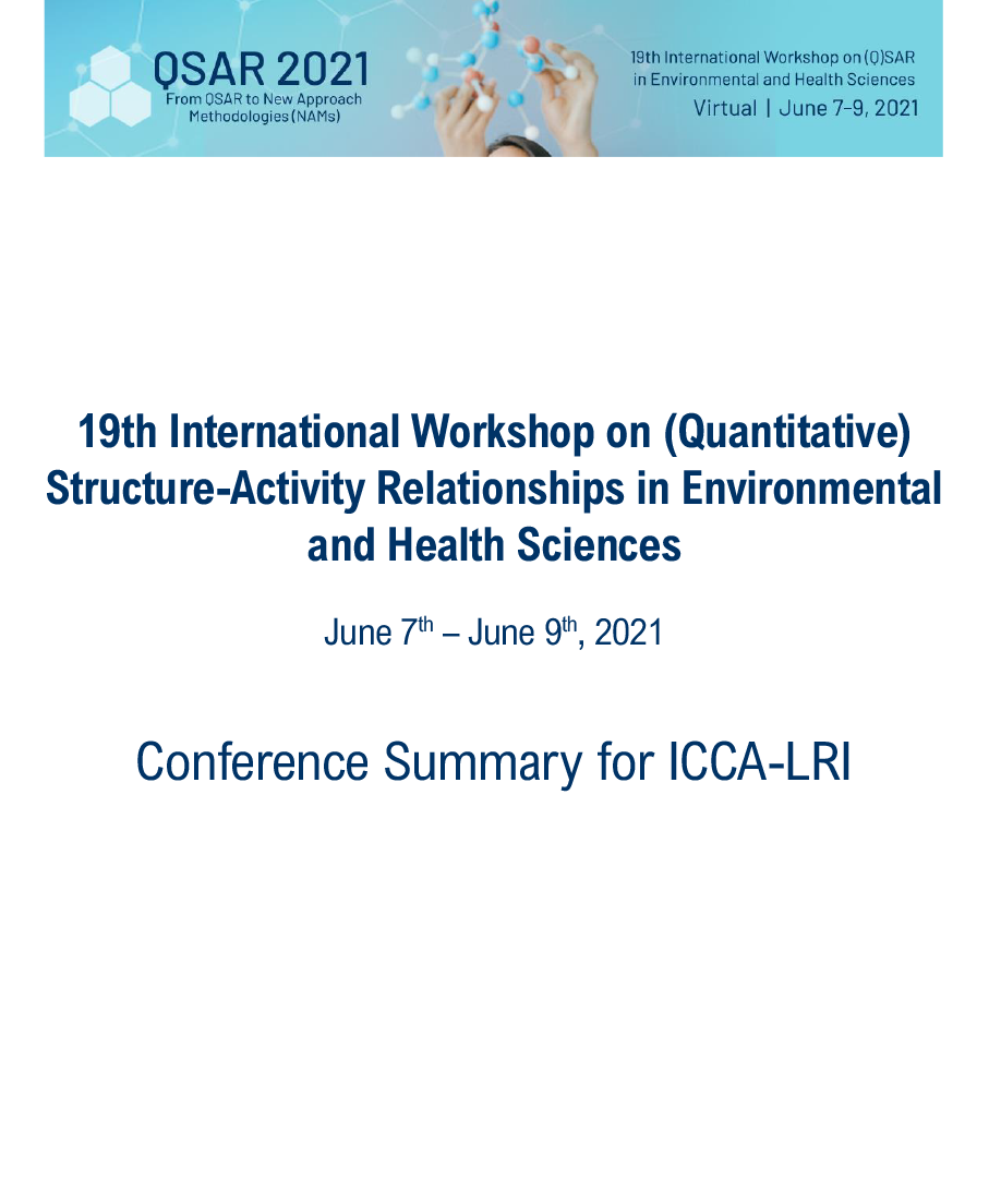 QSAR 2021 Workshop