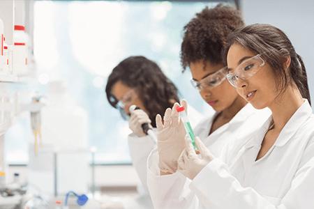 Lab Diverse Women