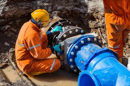 Fixing Broken Water Main