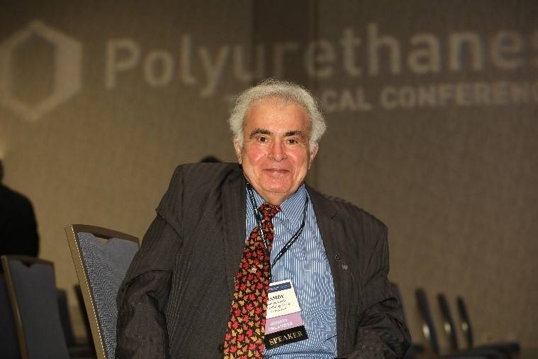 Dr. Hamdy Khalil at the CPI Polyurethanes Technical Conference