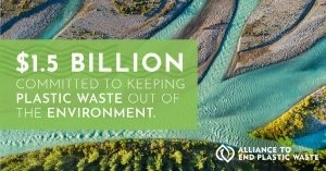 1.5 Billion Committed to Keeping Plastic Waste Out of the Environment